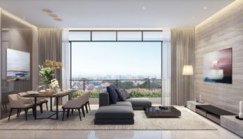 Parkwood Residences Living Dining Singapore