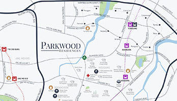 Parkwood Residences Location Map Thumbnail Singapore