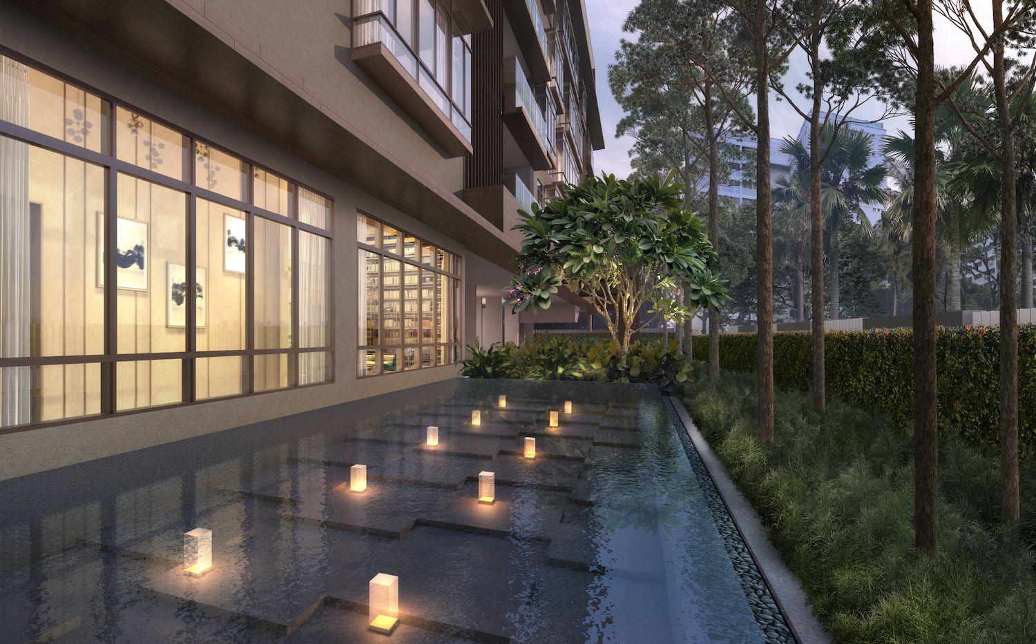 Parkwood Residences Pool Singapore