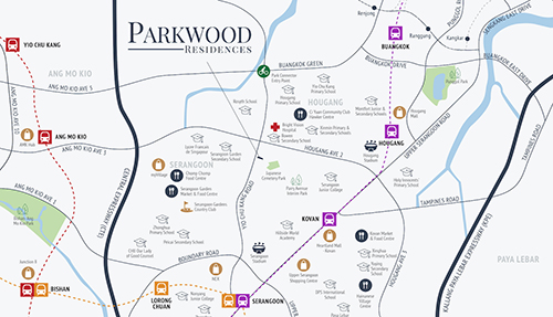 Parkwood Residences Location Map Thumbnail